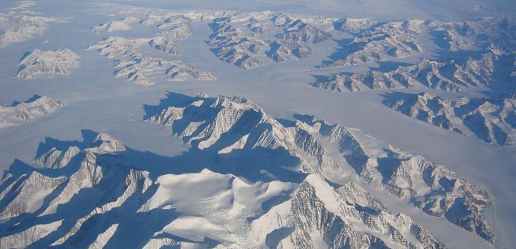 Grönland von oben - so könnte es in unserer Heimat vor 400.000 Jahren ausgesehen haben. Foto: